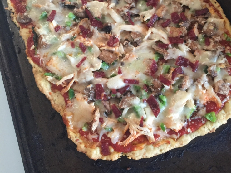 GF 3 Meat Pizza